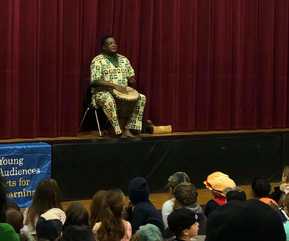 Dylan Pritchett  African Storyteller Performs