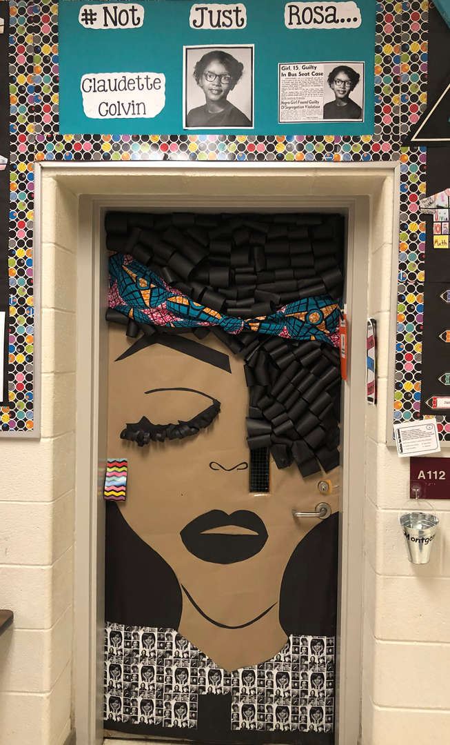 Black History Door Decorating Contest