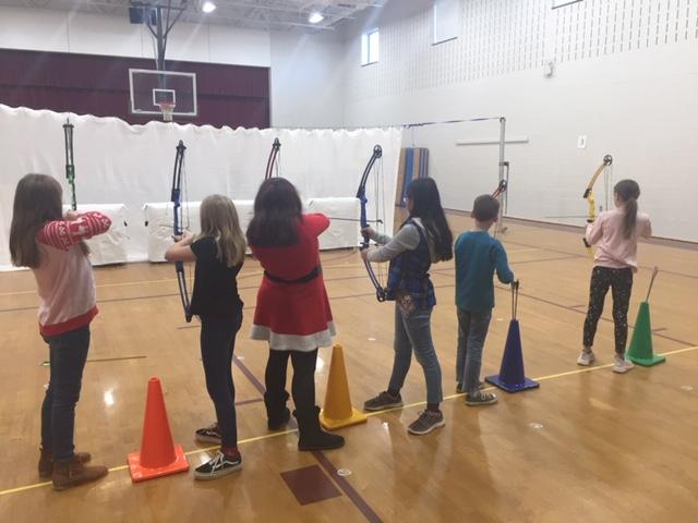 5th grade archery class