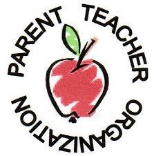 Parent-Teacher Organization with apple