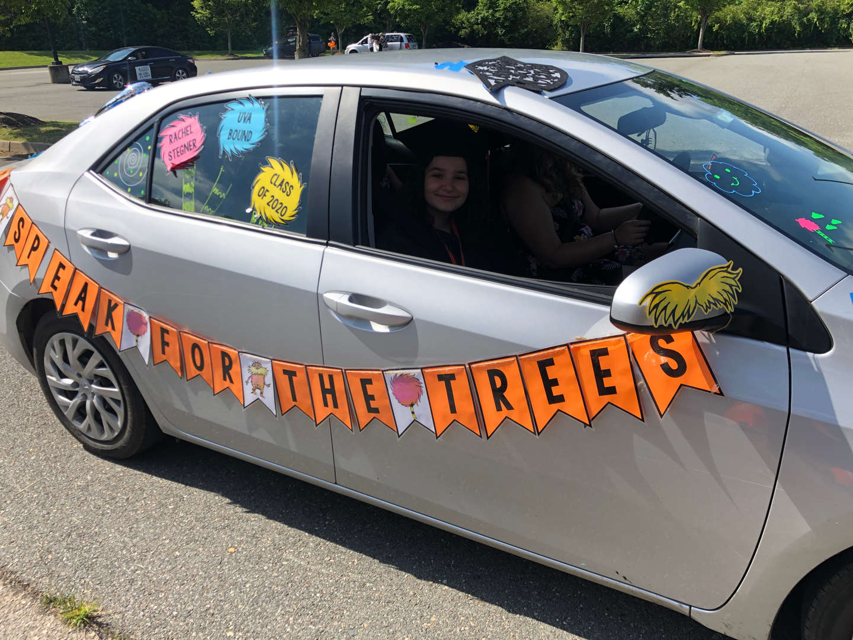 Rachel Stegner car