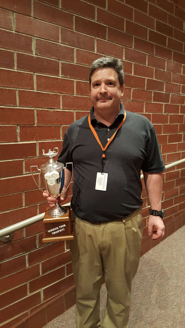 McCullough with trophy