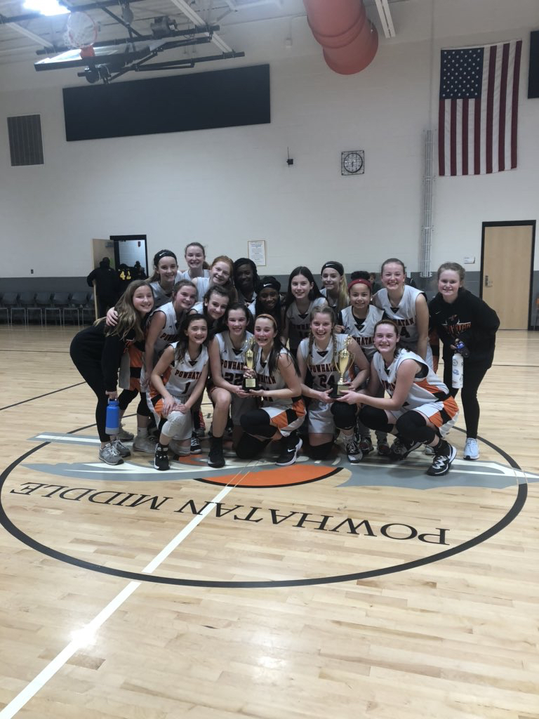 2020 Girls Basketball Tournament Champions