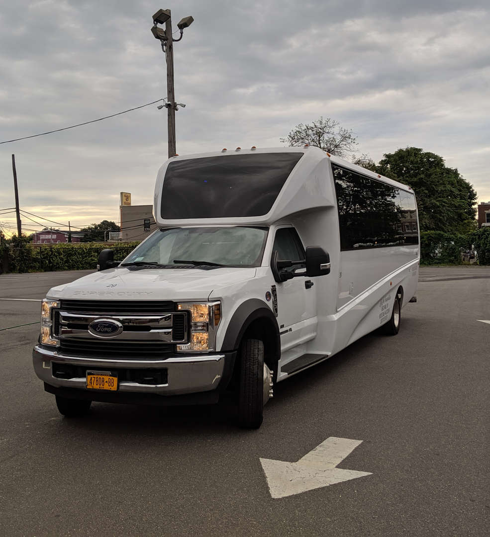 Our ride to the farm