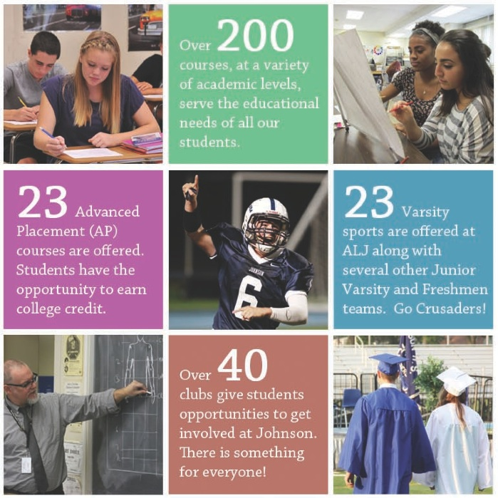 We take great pride in the many opportunities our students have at ALJ.