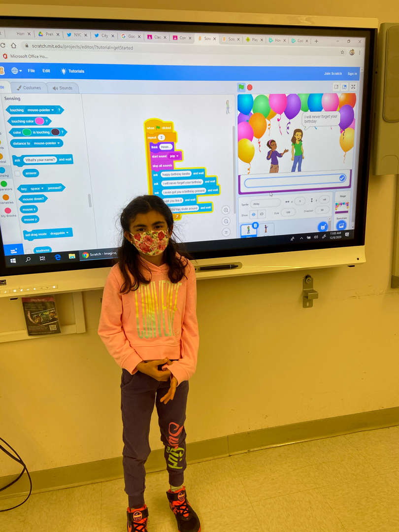 Photini Shares her Scratch Project