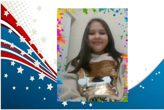 Meet our 5th Grade 2020 -201 Student Government Secretary Raquel