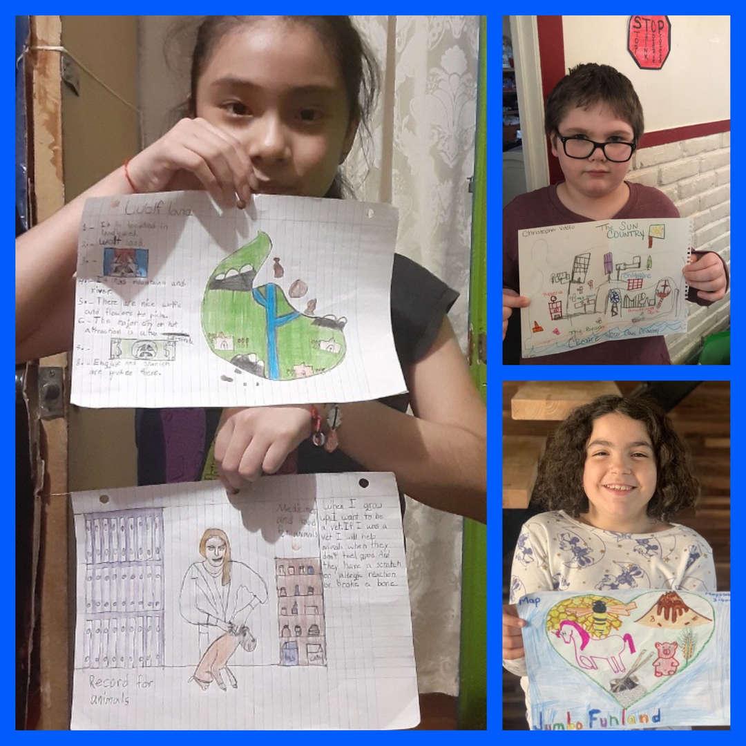 3rd grade community maps