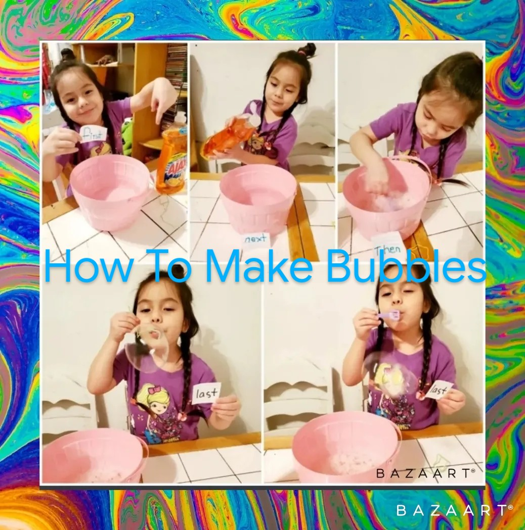 Make bubbles