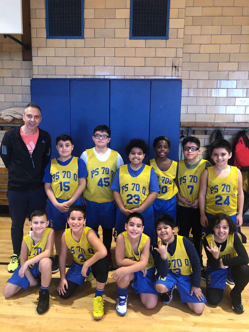 PS 70 Basketball Team