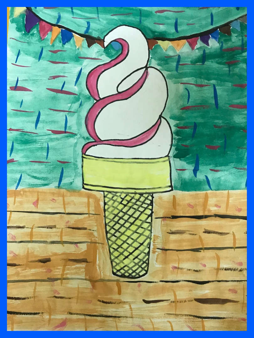 Ice cream art 2