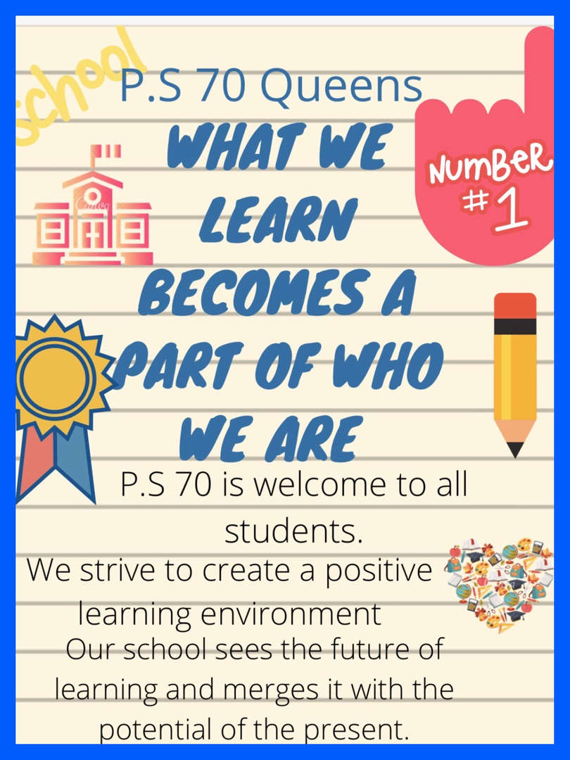 What we learn becomes a part of who we are Student Poster