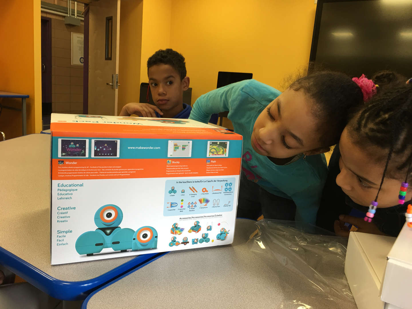 exploring robotics for second and third graders