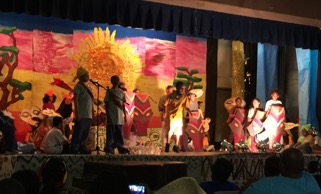 school production of the Lion King, 2016