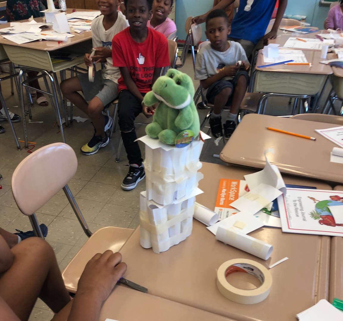building bridge towers