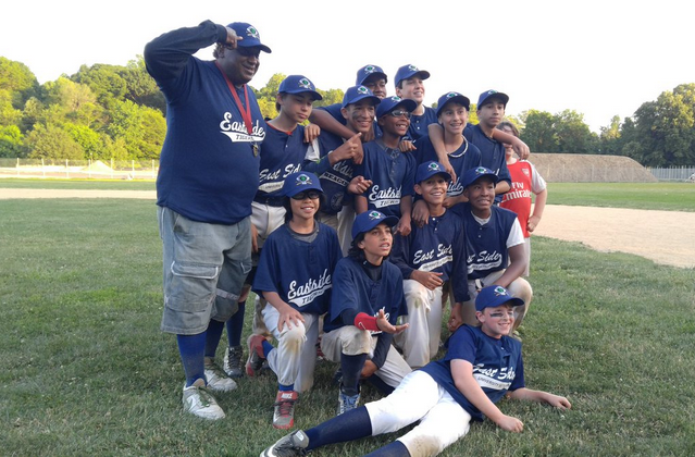 Middle school baseball team