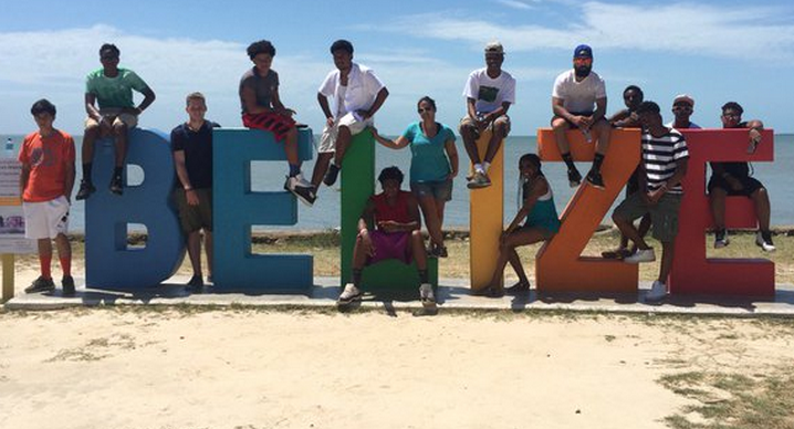 Students in Belize