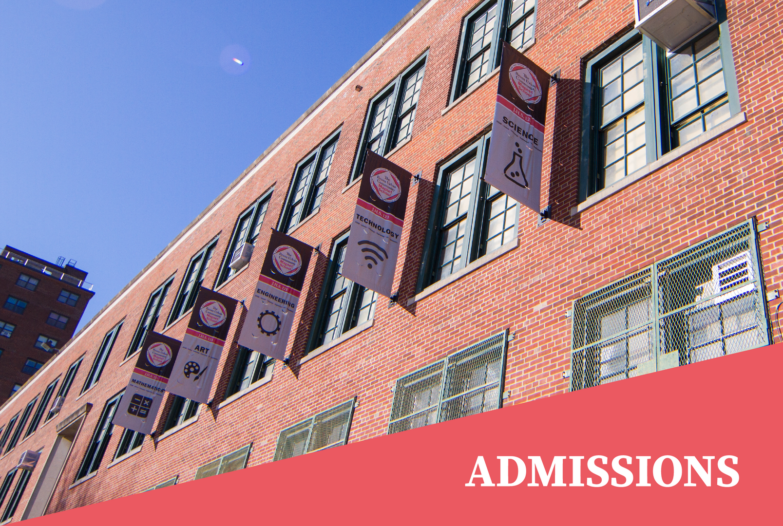 Admissions: STEAM flags