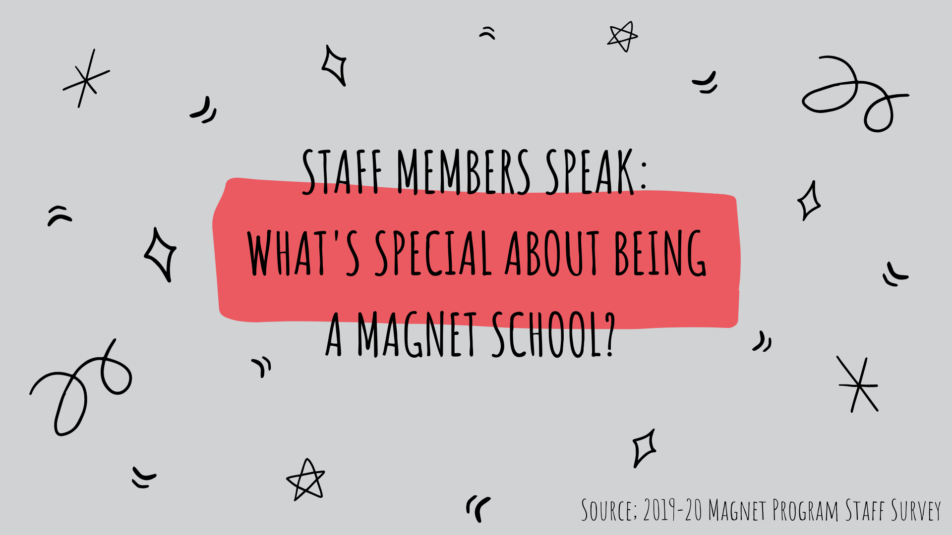 Staff Members Speak: What's special about being a magnet school?
