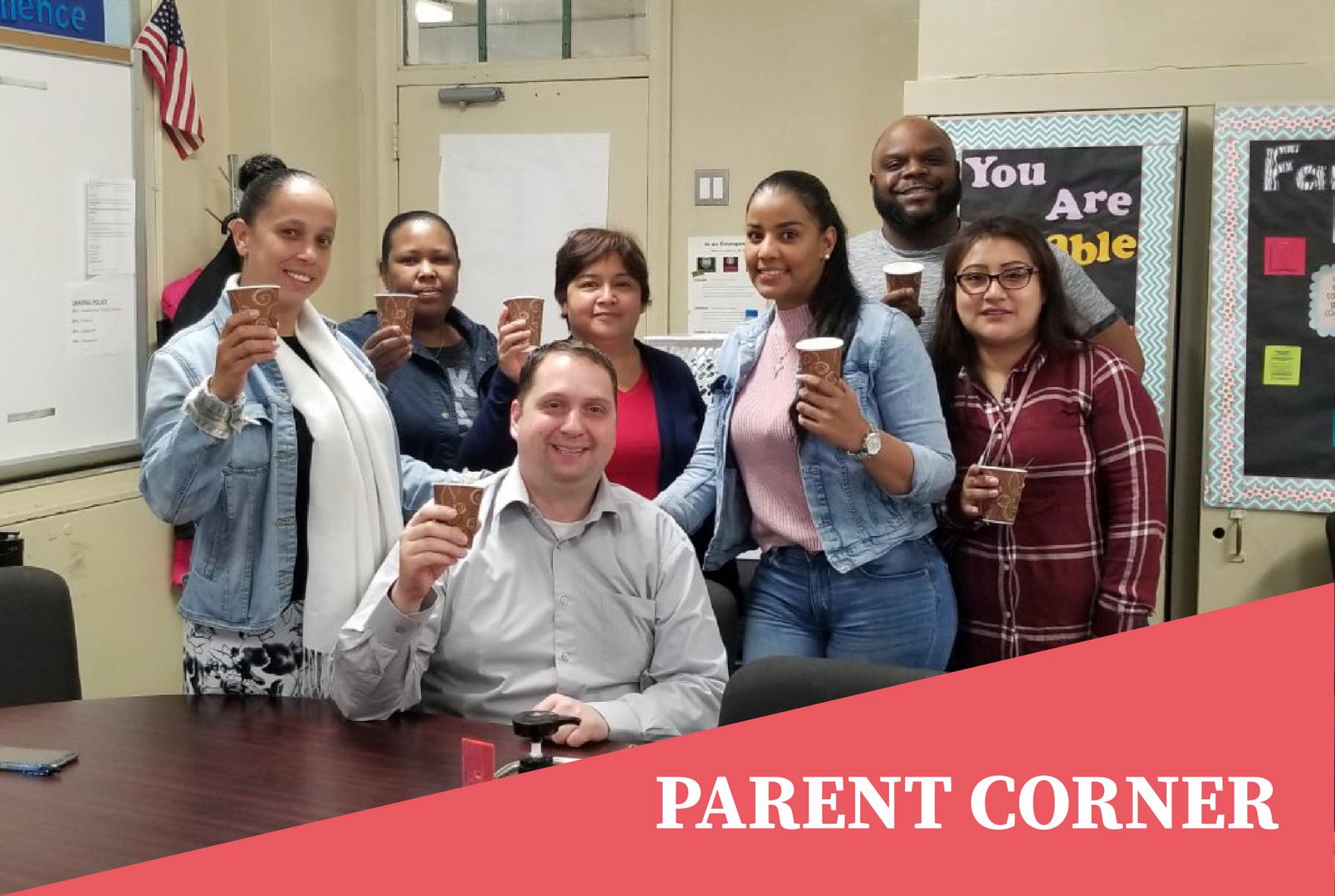 Parent Corner: Coffee with the Principal