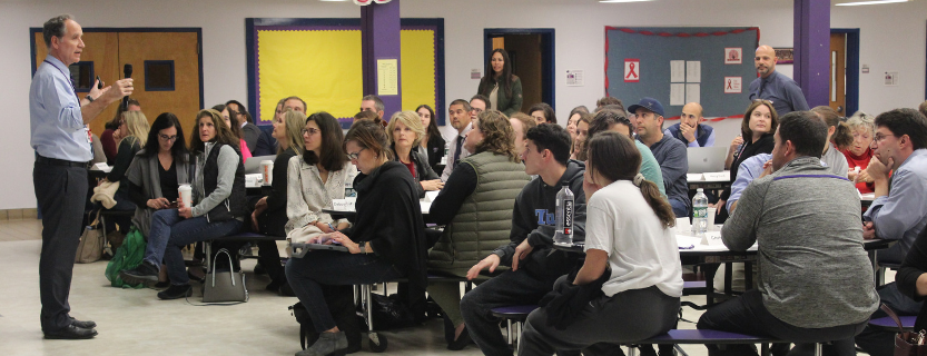 Thank you to all who attended the Learning Café: The John Jay mascot and how we move forward together.