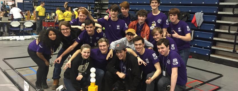 Robotics teams advance to regional championships.