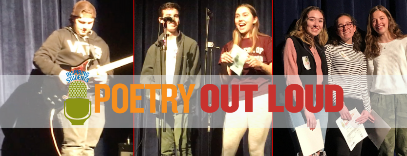 39 poetry recitations | two hosts | musical interludes | a panel of judges | congrats to all