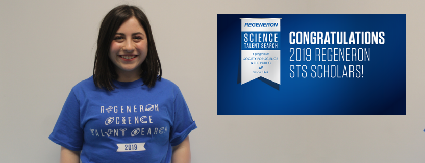 Heather Sherr is named a Regeneron Science Talent Search Semi-Finalist! Find out more about her research here.