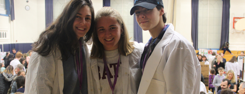 """twenty-nine science students participated in the Katonah Elementary School Science Fair as """"Visiting Scientists!"""""""