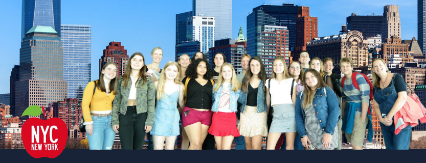 The History of New York City class took a field trip to the National September 11 Memorial & Museum and the top of One World Trade Center!