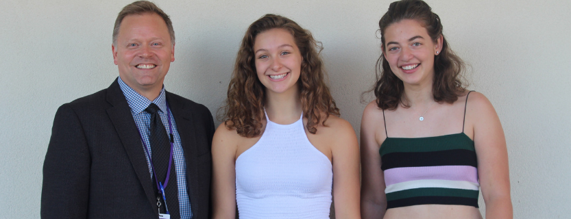 Congratulations to the Class of 2020 Valedictorian Jessica Leff and Salutatorian Sydney Aronson.