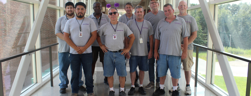 Thanks for making each inch of John Jay sparkle, Operations and Maintenance!