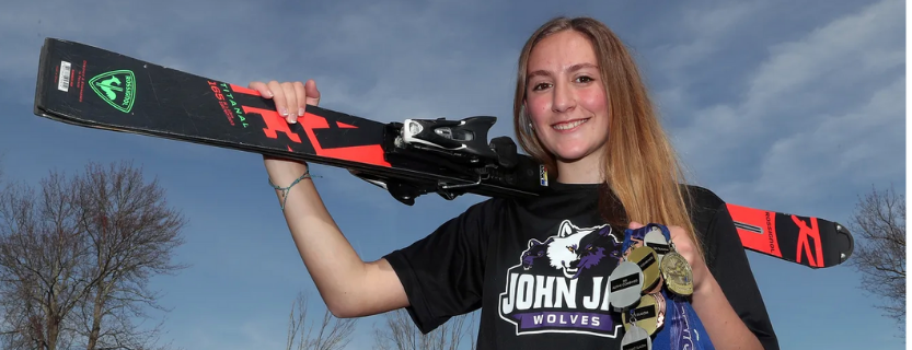 Congratulation to Samantha Spieler for being named the The Journal News/Lohud Westchester/Putnam Skier of the Year!!