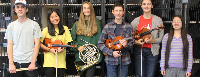 Congrats to student-musicians named to Area All-State!