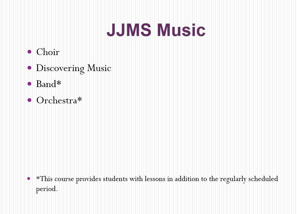 JJMS music