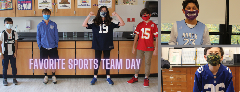 favorite sports team day