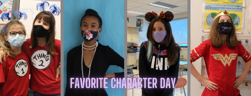 favorite character day
