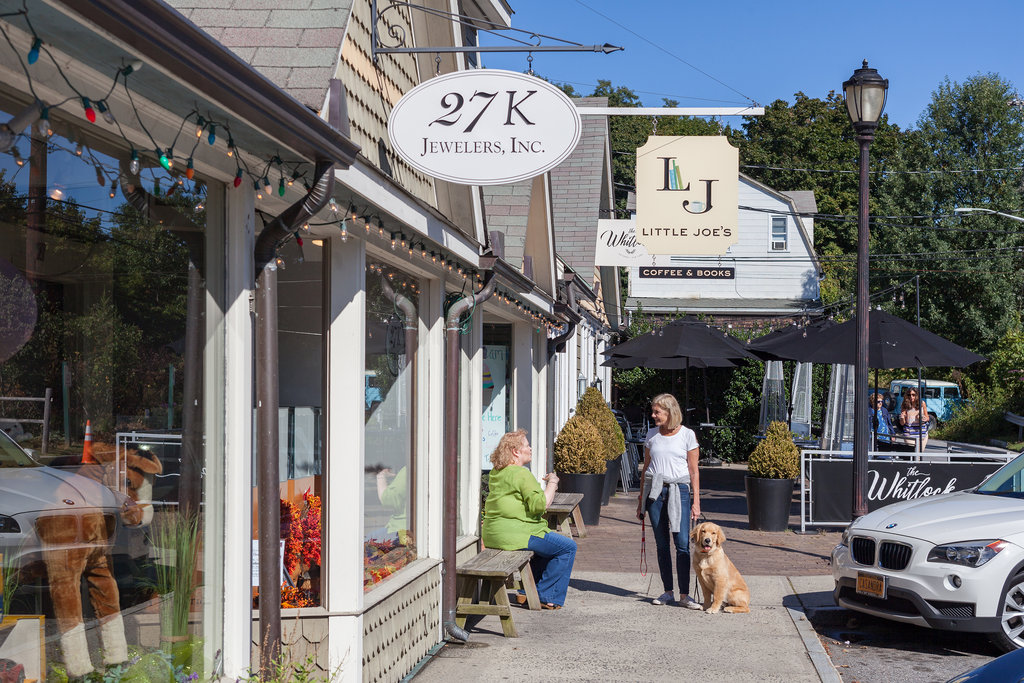 Villages like Katonah are dependent on consumers choosing to shop local over online.