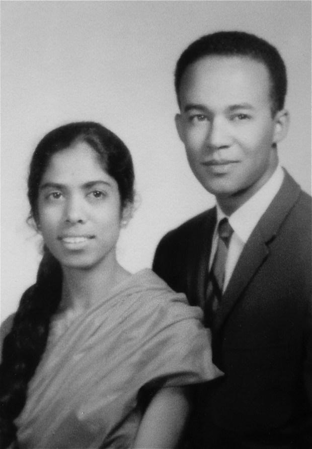 Harris's parents