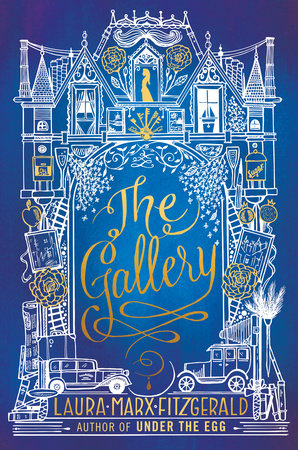 Book jacket of The Gallery