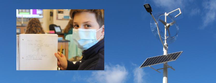John Jay's new renewal energy installation