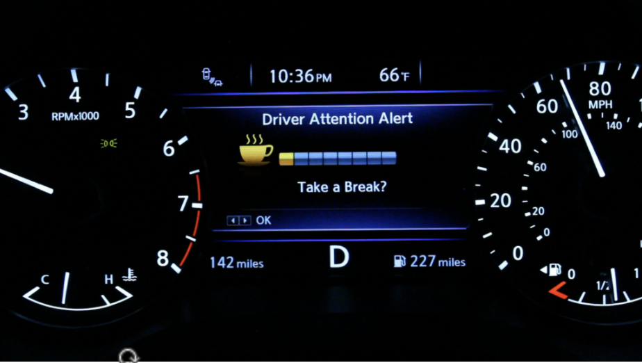 When your attention starts to wander, your car will re-focus you!