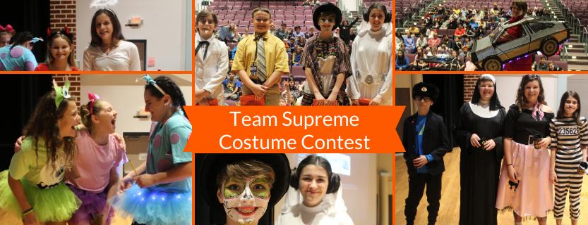 Team Supreme's Costume Contest