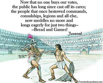 Roman Bread and Circuses