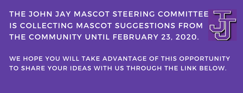 Announcement of mascot suggestions survey,