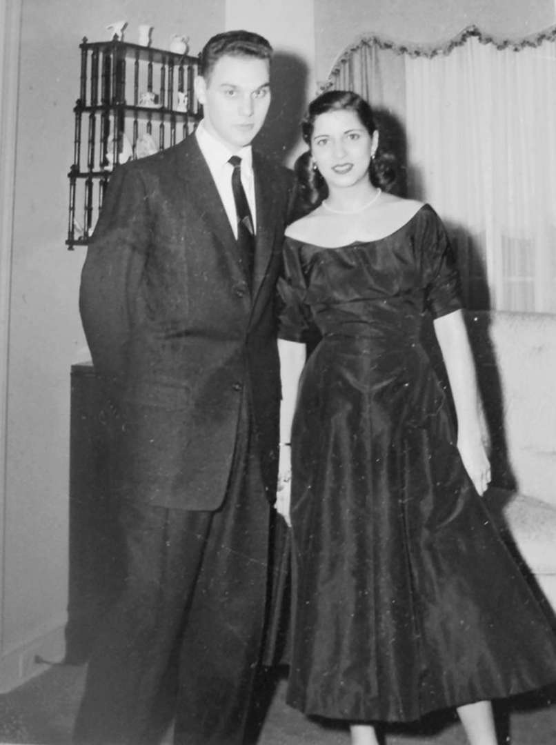 Ginsberg and her husband, Marty