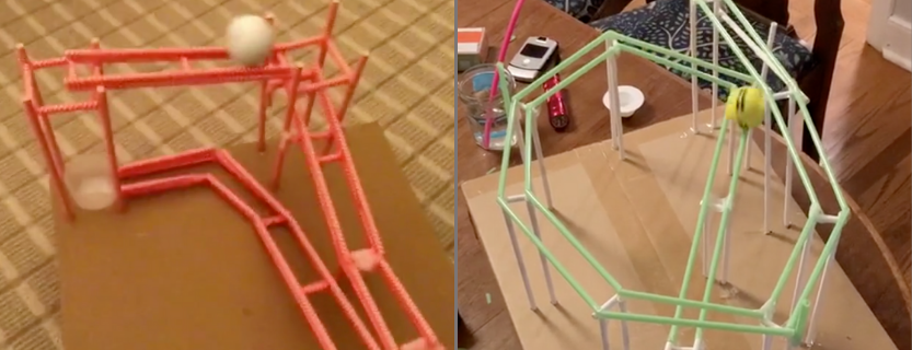 Students create a thrilling ride by using the engineering design process.
