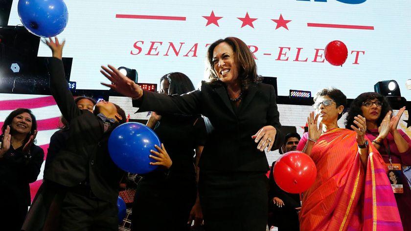 Harris re-elected as Senator for California