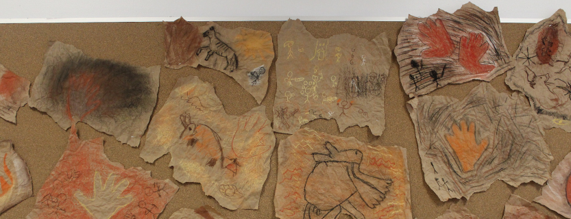 Art inspired by thePalaeolithic cave paintings found in a complex of caves in southwestern France.