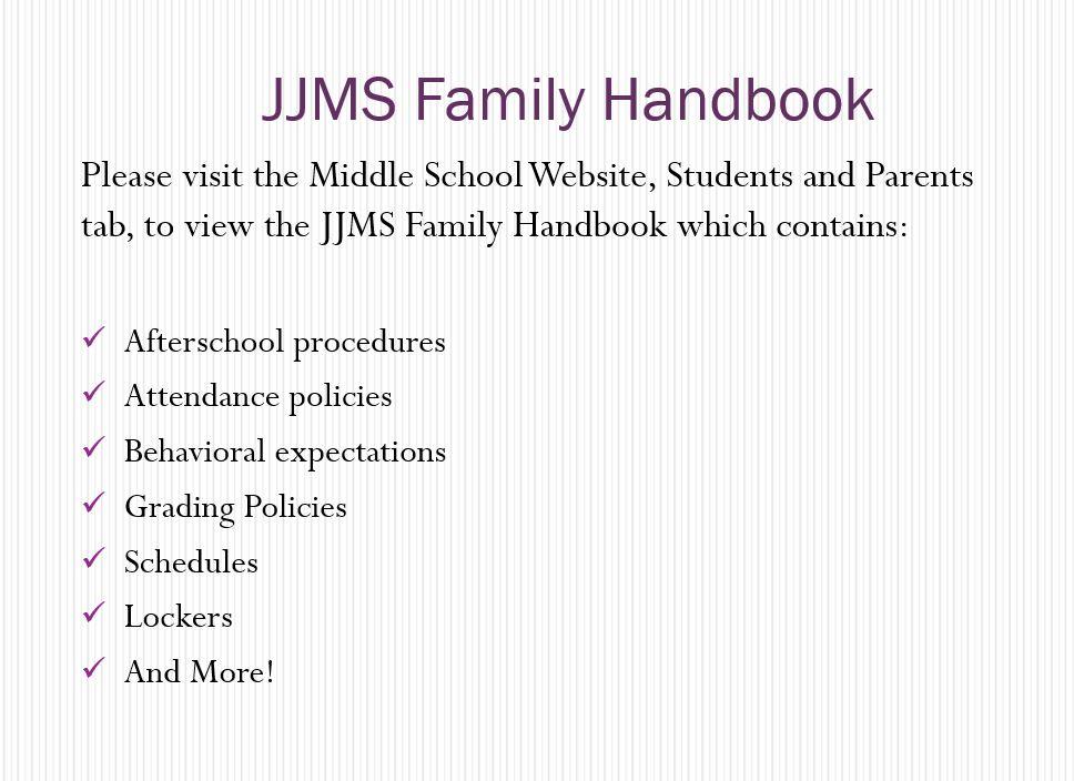 ABC Family Handbook